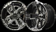 Madjax Apex 12x7 Machined/Black Wheel