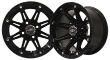 Madjax Element 12x7 Black Wheel