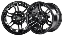 Madjax  Mirage 12x7 Black Wheel Color Insert Options
