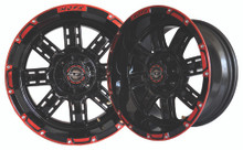 Madjax Transformer 14x7 Black/Red Wheel