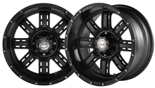 Madjax Transformer Matte Black 12x7 Wheel