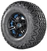 Predator Tire with Blue Insert