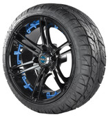 Viper Tire with Blue Insert