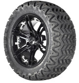 Predator Tire with Chrome Insert