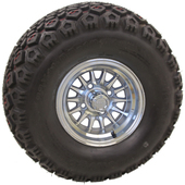 "10"" RHOX Phoenix Machined Wheel (shown with Mojave tire)"