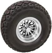 "RHOX 10"" Phoenix Machined w/ Black Wheels (shown with Mojave tire)"