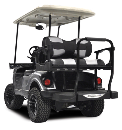 Madjax Genesis 300 EZGO Rear Flip Seat Kit with Aluminum Frame ...