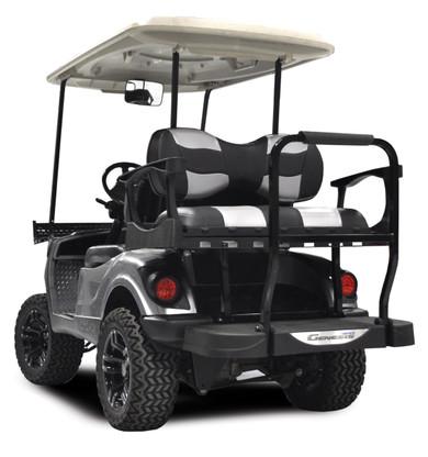 Madjax Genesis 300 Club Car Rear Flip Seat Kit With Aluminum Frame