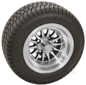 "RHOX 10"" Phoenix Machined w/ Black Wheel (shown with RXLP tire)"