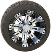 "RHOX 10"" Vegas Machined w/ Black Wheel (shown with RXLP tire)"