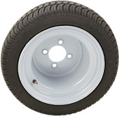 "RHOX 10"" Steel White Wheel (shown with RXLP tire)"