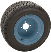 "RHOX 10"" Steel Silver Wheel (shown with RXLP tire)"