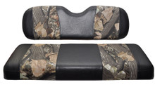 Madjax Black and Camo Rear Flip Seat Cushion Set