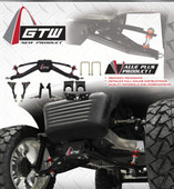"GTW 6"" Double A-Arm lift kit for Club Car Precedent models 2004-up Gas/Elec"