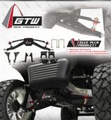 "GTW 6"" Double A-Arm lift kit for Club Car Precedent models 2004-up Gas/Elec"