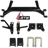 "GTW 5"" Drop Axle Lift Kit - EZGO TXT 2001.5-Up Gas/Elec"