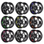 Mirage Wheel Color Inserts 10""