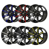 Illusion Wheel Color Inserts 14""
