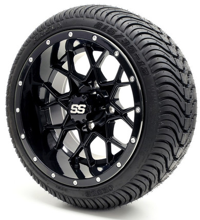 Gtw Vortex Ss Gloss Black Wheels With Low Protire Options