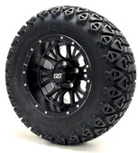 "12"" GTW Diesel Matte Black Wheels Combo - Choose the Lift Kit"