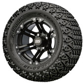 "12"" GTW Specter Matte Black Wheels Combo - Choose the Lift Kit"