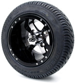 "10"" Twister SS Wheel/Rim and Tire Combo"