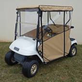 "RHOX ""Odyssey"" 3-Sided Vinyl Enclosure for EZGO TXT (Choose Color)"