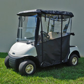 "RHOX ""Odyssey"" 3-Sided Vinyl Enclosure for EZGO RXV (Choose Color)"