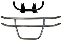 Club Car Precedent 2004-Up Jake's Brush Guard - Stainless Steel