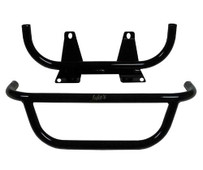 Club Car Precedent  Jake's Brush Guard - Black Powder Coat