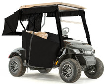 """PRO-TOURING"" 3-Sided Sunbrella Track Style Golf Cart Enclosure for EZGO TXT48 (Choose Color)"
