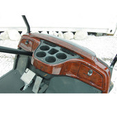 RHOX Yamaha G29 Drive Golf Cart Dash - Woodgrain