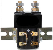 36v/48v Curtis Solenoid - with bracket, resistor, diode attached