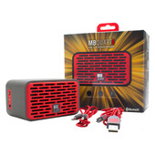 QUB Two Dual Driver Wireless Bluetooth Speaker in Red