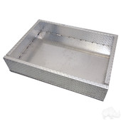 RHOX EZGO TXT 1996-Up Golf Cart Aluminum Diamond Plate Utility Box