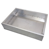 RHOX EZGO Marathon Golf Cart Aluminum Diamond Plate Utility Box