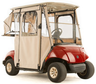 """DOOR-LUX"" 3-Sided Sunbrella  Golf Cart  Enclosure for Yamaha G29 Drive (Choose Color)"
