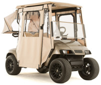"""DOOR-LUX"" 3-Sided Sunbrella Golf Cart Enclosure for EZGO TXT (Choose Color)"