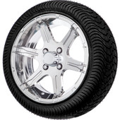 "14"" Stingray Chrome - LowPro Street Tire and Wheels Combo"