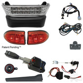 LED Light Bar Kit, Club Car Precedent 08.5 w/ 12V