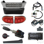 LED Light Bar Kit, Club Car Precedent 08.5+ w/8V