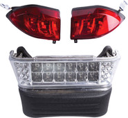 GTW LED Light and Bumper Kit – For Club Car Precedent (Fits 2004-2008 Electric)