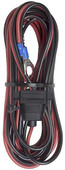 Bazooka 12' Power Cord with Fuse Holder (For Front Mount or Stretch Vehicles)