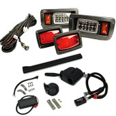 Premium GTW Adjustable LED Light Kit – For Club Car DS (Years 1993-Up)