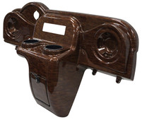 EZGO RXV Deluxe Curly Maple Dash w/ Radio Cutout and Speaker Indentations