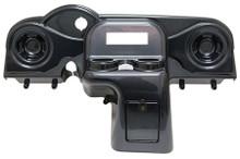 EZGO RXV Deluxe Carbon Fiber Dash w/ Radio Cutout and Speaker Indentations
