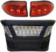 RHOX Club Car Precedent LED Light Bar Bumper Kit w/ LED Accent Lights (Electric 04-08.5 Gas 2004+)