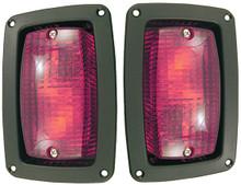 RHOX LED Taillight Set (Fits: Club Car DS, Yamaha, E-Z-GO)