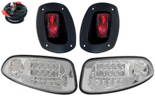 RHOX EZGO RXV SS Clear LED Factory Style Light Kit