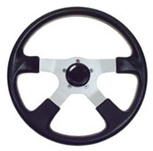Grant Formula 4 Steering Wheel Black - 4 Spoke